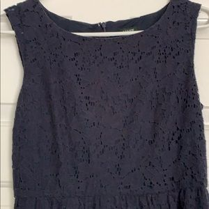 J crew size 2 navy blue dress